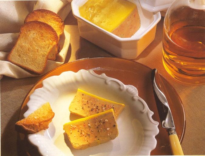 Produits du terroir le foie gras de Vendée