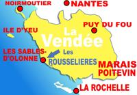 gites et campings Les Sables d'Oonne en Vendée
