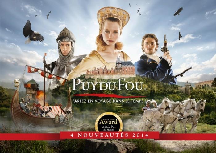 Le Puy du Fou avec le Grand Parc et la Cinéscenie