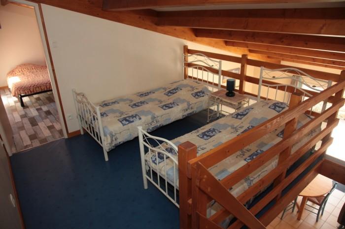 Chambre pour les ados en mezzanine