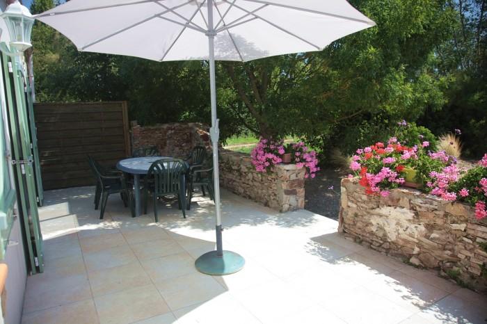 Gite avec terrasse et salon de jardin aux sables d'olonne