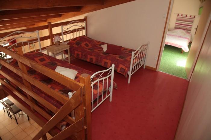 Chambre pour ados à la mezzanine