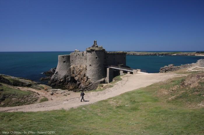 L'ile d'Yeu et son vieux château