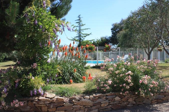 Gite avec jardin aux Rousselières