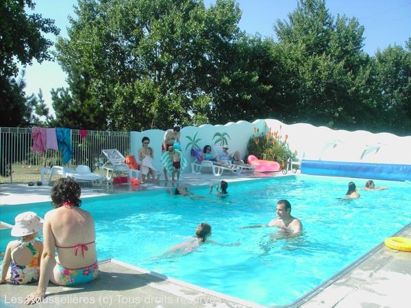 Domaine les Rousselières la piscine chauffée