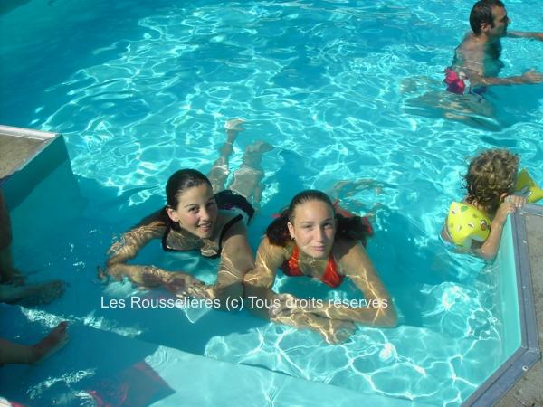 La piscine chauffée du Domaine les Rousselières