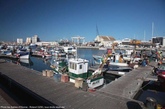 Vieux port de pêche des Sables d'Olonne