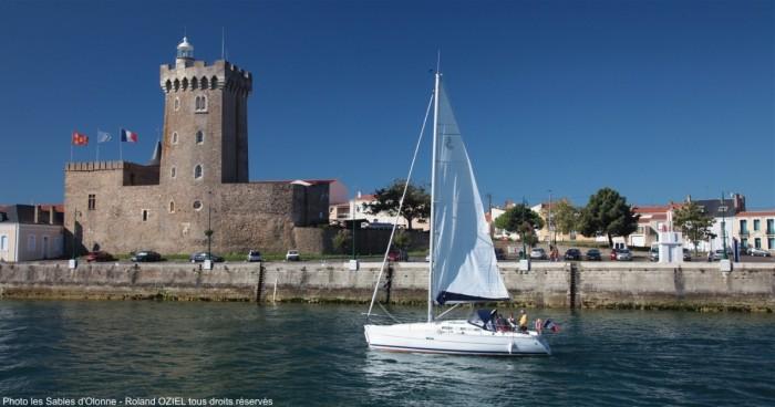 La Tour d'Arundel abritant le Musée de la Mer