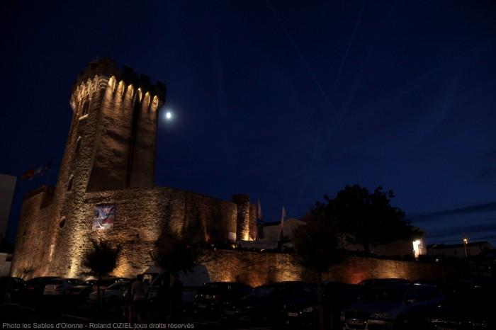La Tour d'Arundel en nocturne